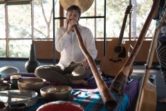 Soundbath at Yoga Garage, Belair 2017
