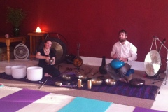 Soundbath at Go Yoga, Brighton SA, 2015