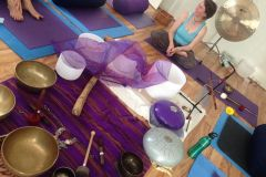 Soundbath at Surya Tara Yoga, Hallett Cove SA 2013